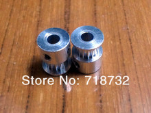 free shipping 5pcs 16-GT2-6 timing pulley GT2 16 tooth 6mm belt width 5mm bore