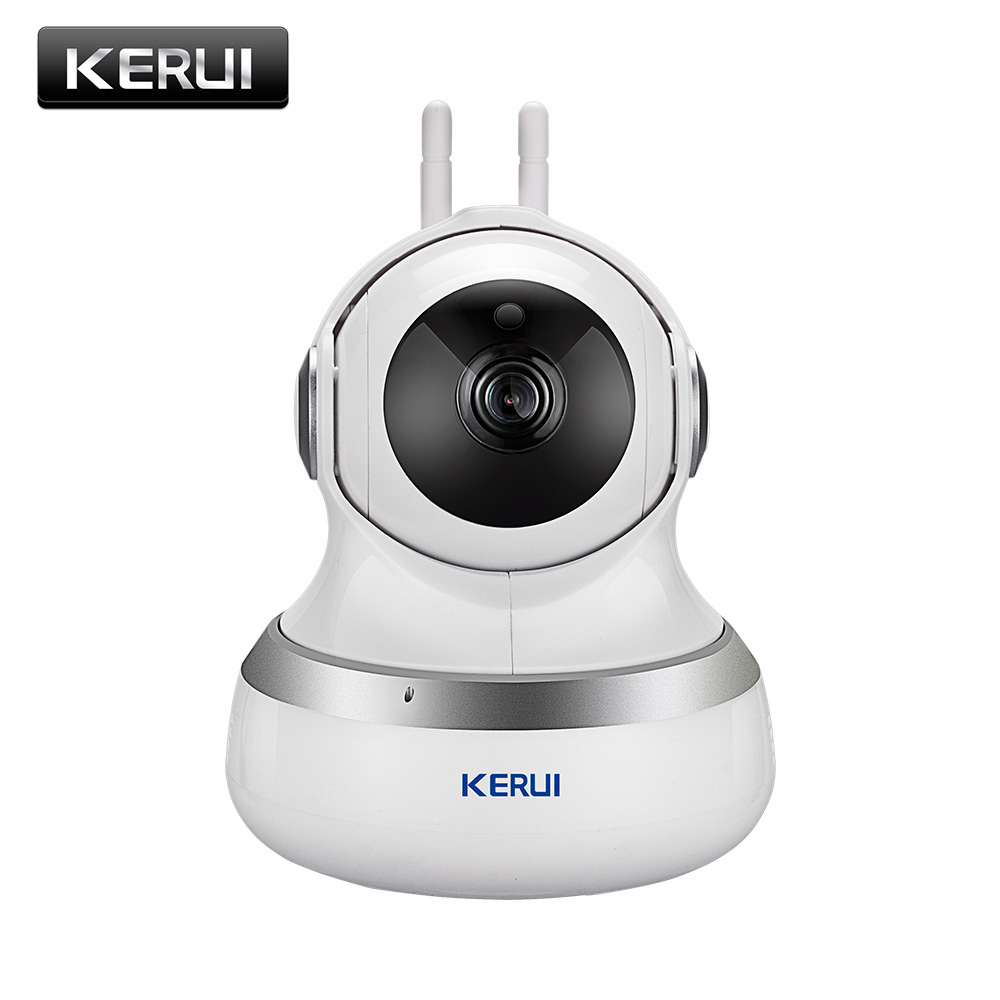 KERUI Indoor Wireless 1.0MP HD 720P IP Camera Wifi Home Security Surveillance Camera Cloud Camera Night Vision Motion Detection