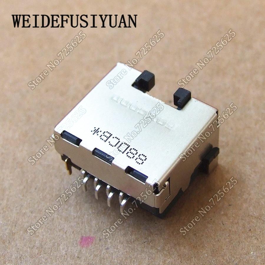 Module de carte de Port LAN Ethernet pour ordinateur portable HP 8440 P 8540 P 8540 W connecteur réseau LAN pour ordinateur portable prise RJ45 - 4