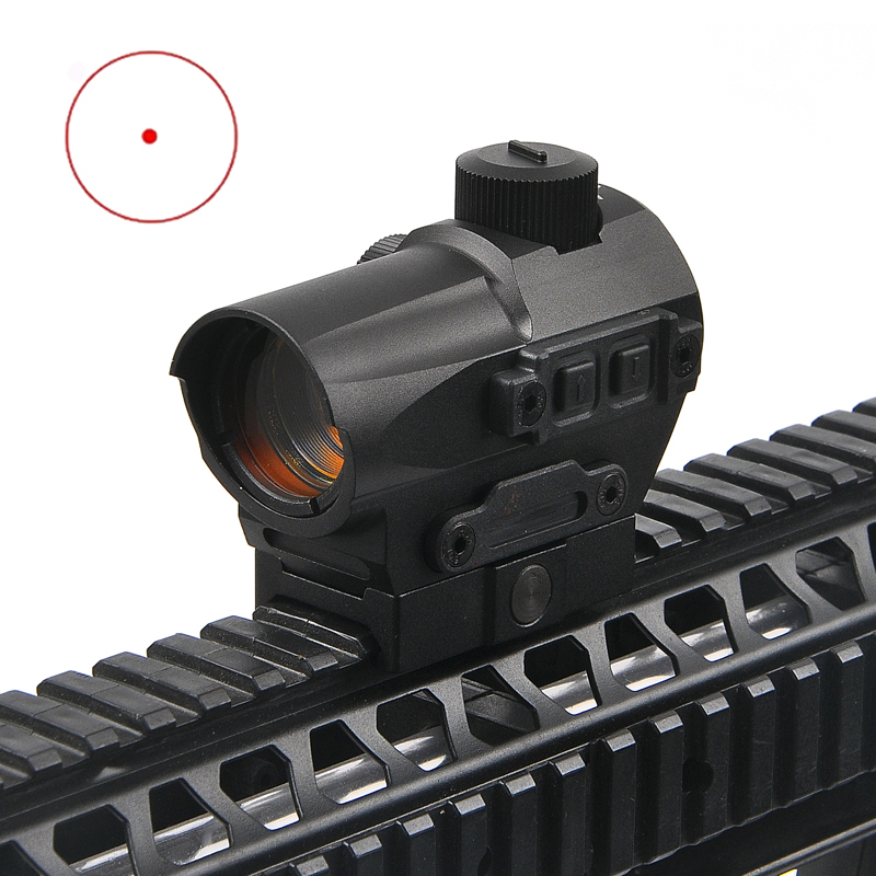 Holographic Sight Red Dot Sight Scope 1.5 MOA Dot Size with 1913 Rail Optional Quick Disconnect Hunting Scopes for Sniper Rifle lp style dp pro red dot sight with the 1911 1913