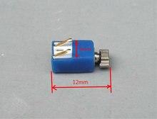 3 V-3.7 V 5mm * 12mm micro DC coreless motor de vibração vibrador brinquedo acessórios do telefone móvel DIY fonte de vibração
