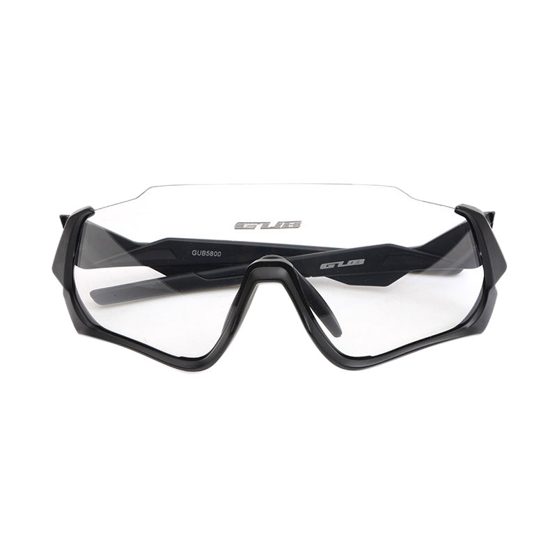 Gub lunettes de soleil vélo sable-preuve lunettes de vélo polarisées femmes hommes demi cadre vélo lunettes équipement de cyclisme