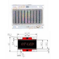 НОВЫЙ Epi светодиодный s 45mil высокой мощности 100 Вт COB UV 365nm светодиодный Диод Фиолетовый УФ лампа для проверки валюты медицинская