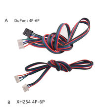 3d print motor stepper kabel 6pin 4pin stepping verbindingslijn 26AWG lengte 1000mm(China)