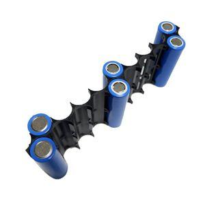 Image 4 - OOTDTY soporte de espaciador de batería de plástico 18650, 10 Uds., 2x1 0P/2x13P, soporte de celda cilíndrica para accesorios de almacenamiento de batería