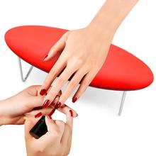 Подставка для рук для ногтей, Кожаная подушка для нейл-арта, водонепроницаемая подставка для рук, подставка для рук, подушка для стола, маникюрный педикюр для лампы для ногтей