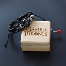 Wooden Game Of Thrones Music Box And Harry Music Box Potter Theme Hand Crank Souvenir Gift Boxs Birthday Gifts