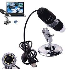 De alta Velocidad LED 2MP 8 Mega Píxeles de la Cámara Del Endoscopio Del Microscopio Digital 1000X USB Microscopio Lupa L3EF