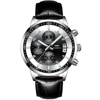 Luxury Brand Men Military Sport Watches Men's Chronograph Quartz Clock Full Steel Waterproof Wrist Watch relogio masculino