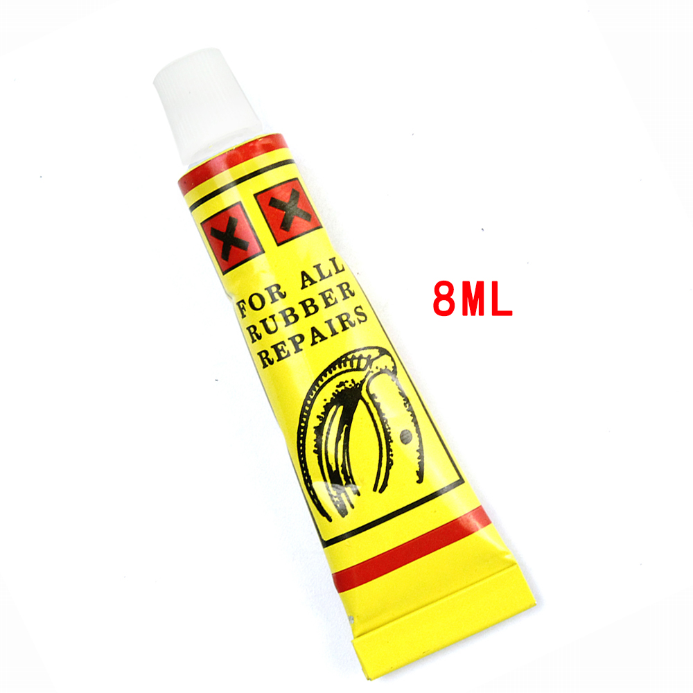 5pcs/Lot 8 ML Bicycle Tire Repair Road Mountain Bike Tyre Inner Tube Puncture Repair Rubber Cement Cold Glue Bike Tire Patch 30pcs lot scooter bike automobile motorcycle tubeless tyre repairing rubber strips tire repair strip sealer