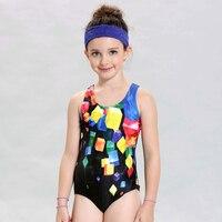 Bathers Children One Piece Swimwear Lovely Girl Sport Swimsuit Kids Swimmer Girls Bathing Suit Infantil Swimwear