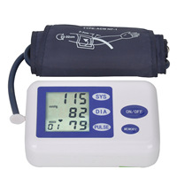 English Menu Electronic Sphygmomanometer Fully Automatic Arm Blood Pressure Monitor Blood Pressure Meter Gift For The