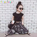 Autumn Kids Wear Clothing sets Cotton t-shirt+harem pants Baby Girls Clothes suits Toddler Boys Outfits Child Costume 0-7T A004