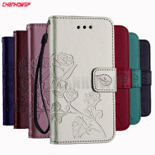 3D Flower Leather Case For Samsung Galaxy S9 S8 Plus S7 S6 Edge S5 S3 Neo S4 J3 J5 J7 A3 A5 2016 2017 J1 Mini Grand Prime Cover(China)