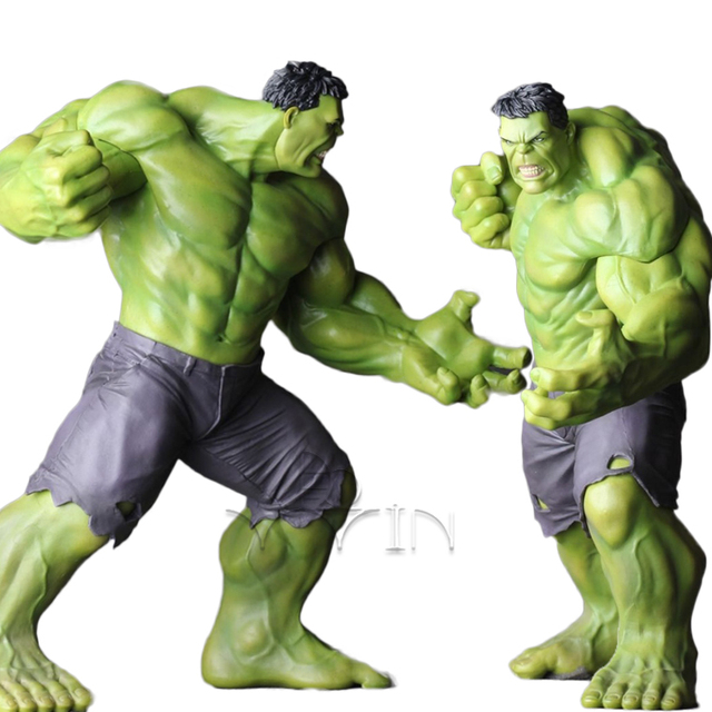Hulk Wolverine Pvc Action Figure Modelo Toy Superhero modelo NFI8