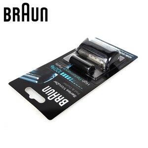 Image 4 - Golarka elektryczna Braun wymiana Blabe 10B/20B (seria 1000/2000) folia i głowica tnąca 1 seria MG5010 5030 5090 CruZer Series