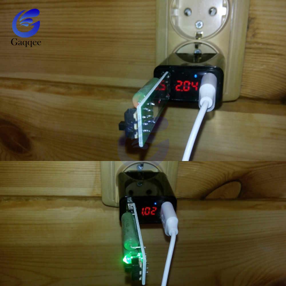 Rezystor USB dc elektroniczne obciążenia z przełącznik regulowany prąd 5 V 1A/2A/3A pojemność baterii napięcia rozładowania tester rezystancji
