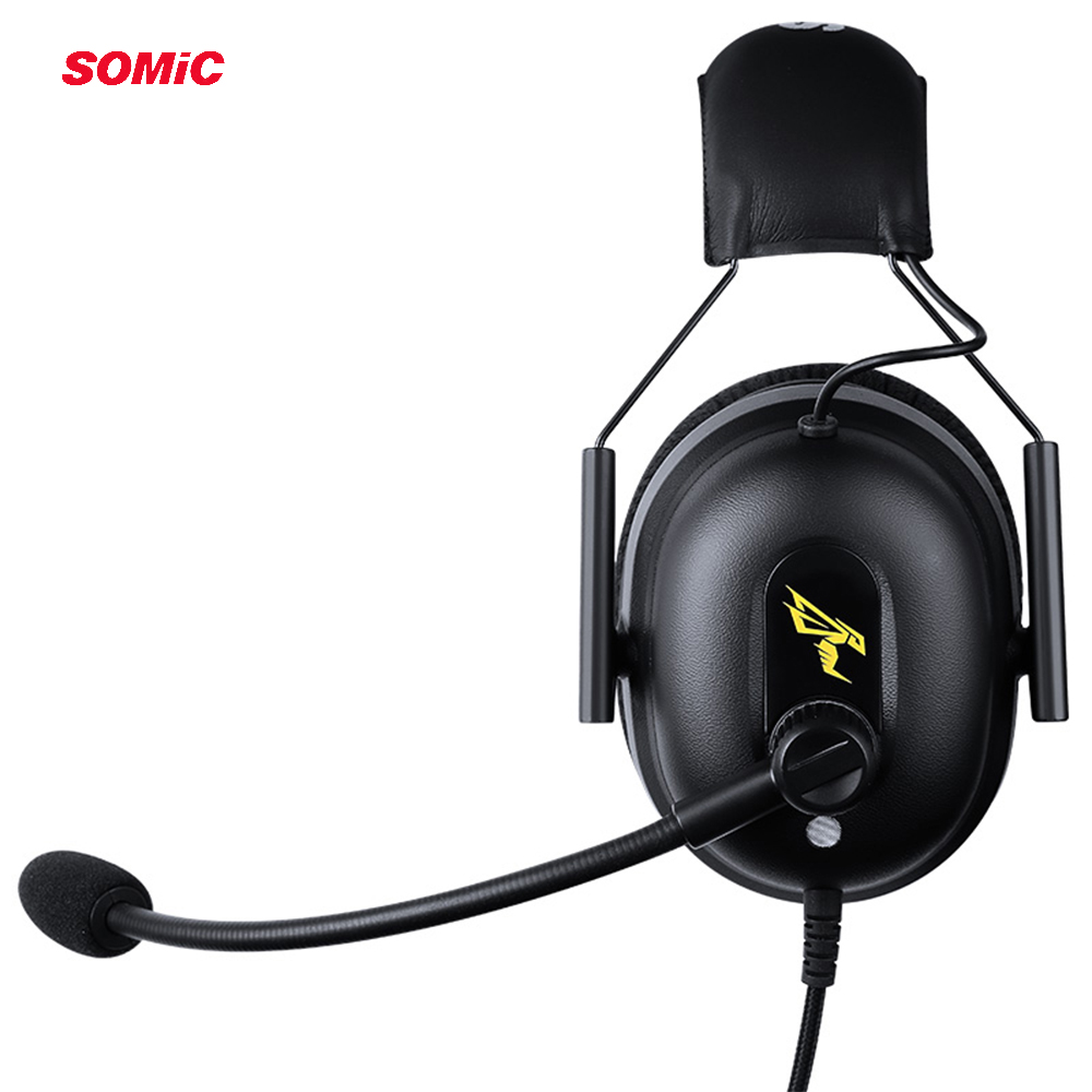 Image 5 - SOMIC G936N PS4 Gaming Headset 7.1 Virtual 3.5mm Wired PC Stereo Earphones Headphones with Microphone for Xbox Laptop-in Headphone/Headset from Consumer Electronics