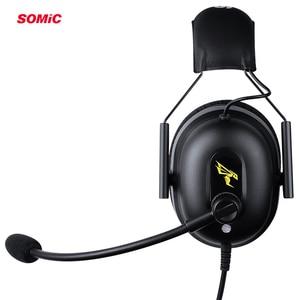 Image 5 - TAI NGHE SOMIC G936N PS4 Tai Nghe Chơi Game 7.1 Ảo Có Dây 3.5mm PC Tai Nghe Nhét Tai Tai Nghe có Mic dành cho Xbox Laptop