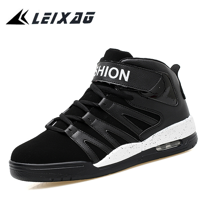 LEIXAG Mens Basketball Shoes Outdoor Women Sneakers Athletic Sport Shoes Men Basketball Ankle Boots Sneakers Cheap Sports Shoes