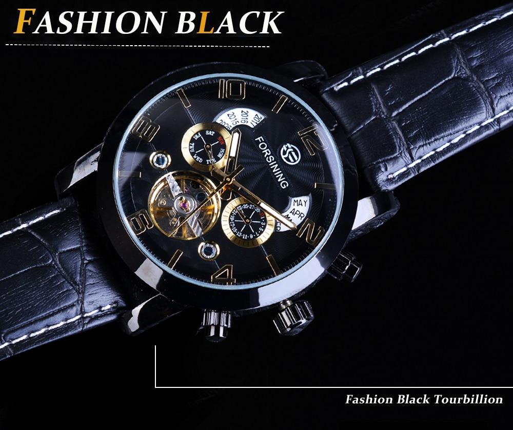 HTB1iMsUinXYBeNkHFrdq6AiuVXaY Forsining Tourbillion Fashion Wave Black Golden Clock Multi Function Display Mens Automatic Mechanical Watches Top Brand Luxury