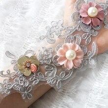 3D цветок вышивка аппликация Водорастворимая ткань паста ручной работы патч без Клея Аксессуары для шитья DIY