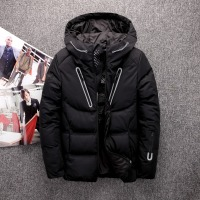 2018 Top quality thicken Winter white duck down jacket men light hooded clothing goose feather coat plus size 4XL down parka
