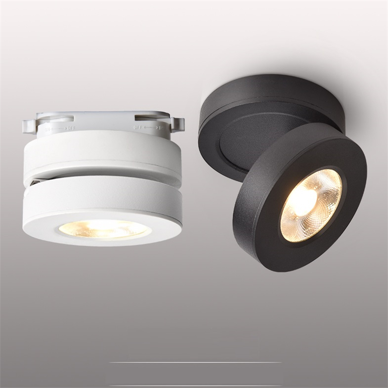 3W 5W 7W Ultra slim LED surface mounted ceiling spot lamp Foldable and 360 degree rotatable Ultra Thin LED Downlight | Surface Mount LED Lights | Foldable and 360 degree rotatable background,wall track spot light Ultra slim LED surface mounted ceiling spot lamp