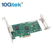 10Gtek Intel 82580 Chipset 1G Ethernet Server Adapter(NIC), Dual Copper RJ45 Ports, Same as I340-T2