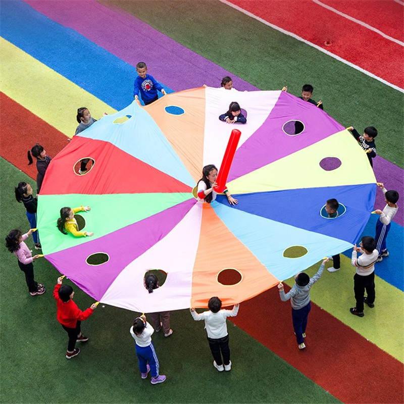 Whac-A-Mole Rainbow Umbrella Kindergarten Props For Outdoor Activities Sport Smotion Small Group Amusement Park S571