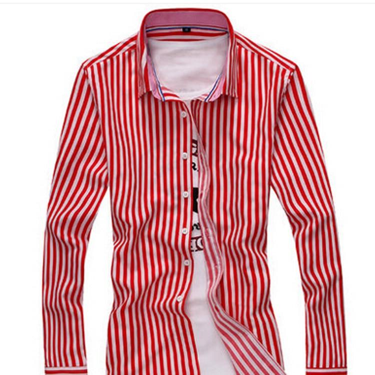 Leisure Fashion Langärmliges Hemd Offenes Hemd Langärmliges Hemd - Herrenbekleidung - Foto 1