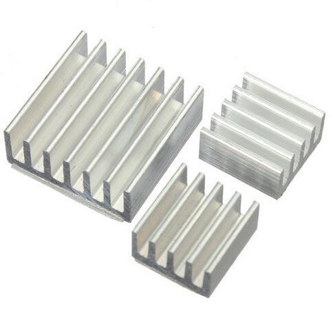 10set 30pcs/lot Adhesive Aluminum Heatsink Radiator Cooler Kit For Cooling Raspberry Pi  ...