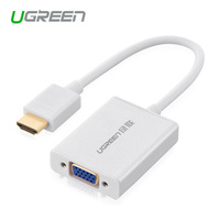 Ugreen Premium version HDMI VGA adapter digital analog converter video cable 1080P for Xbox 360 PS3 PS4 DVD PC Laptop TV box