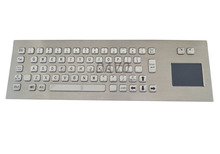 Metal touchpad Keypad Touch the keyboard Kiosk terminal