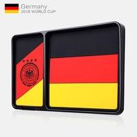 Car Non Slip Mat DEUTSCHLAND Germany Flag Footballer 2018 RUSSIA WORLD CUP Interior Door Pad Cup