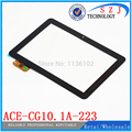 Original 10.1 ''polegadas ace-cg10.1a-223 tyt painel touch screen capacitiva tablet pc para acer ips tablet touch screen frete grátis