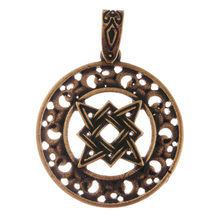 Slavic Russia Star Pendant Necklace Men Rus Star Necklace Men Necklace Collier Drop Shipping(China)