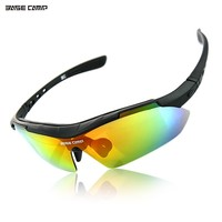 BASECAMP Cycling Glasses Professional Polarized Cycling Glasses Bike Goggles Outdoor Sports Bicycle Sunglasses UV Eyewear Bolle