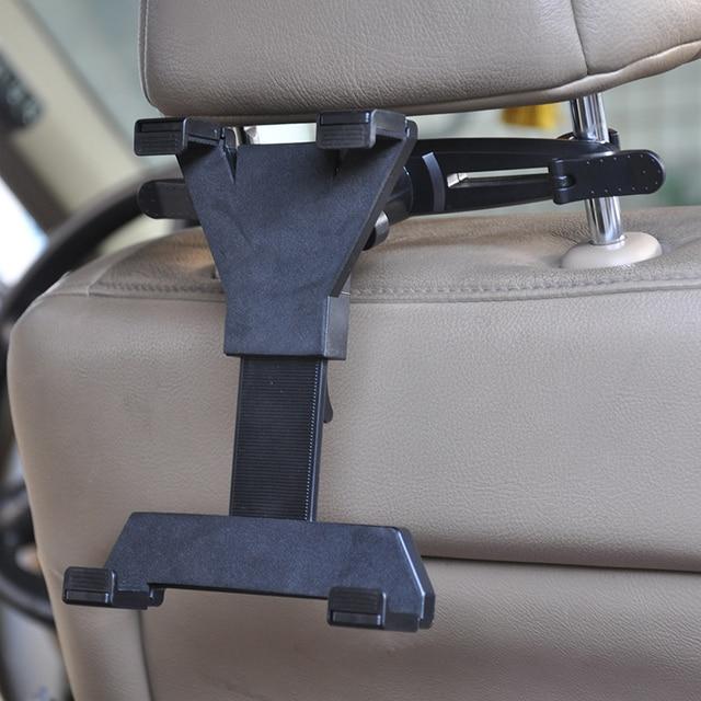 Preto Tablet Carro Titular Bracket Back Seat Headrest Suporte de Montagem Suporte Para ipad air 2 3 4 5 ipad mini 7-11 polegada pdas acessórios