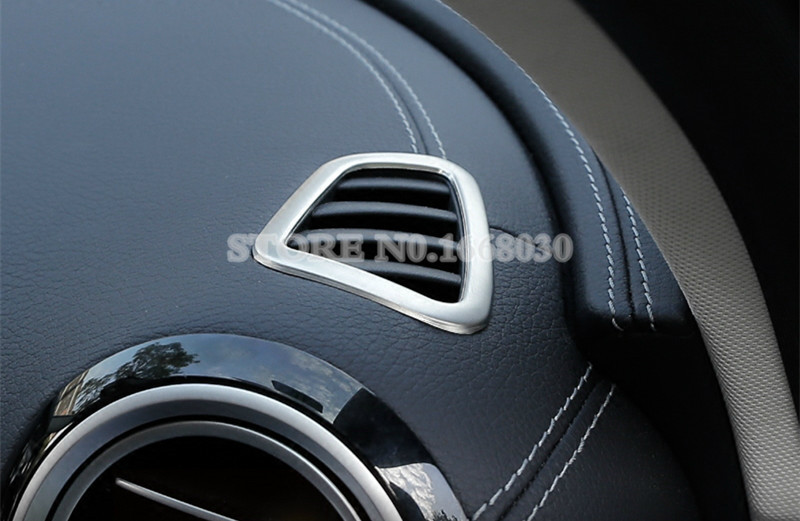 Stainless Dashboard Air Vent Cover Trim For Mercedes Benz E Class W213