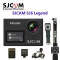 """24fps sj6 lenda wi-fi sjcam notavek 96660 4 k ultra hd ação à prova d' água câmera 2.0 """"touch screen remoto esportes dv"""