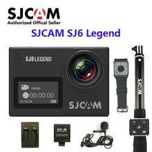 SJCAM SJ6 ЛЕГЕНДА wifi Notavek 96660 4 К 24fps Ультра HD Водонепроницаемая Камера 2.0 «Сенсорный Экран Удаленного Спортивного Д. в.