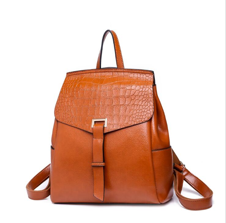 Ragcci Designer Backpacks Women Leather Backpacks Female School BagS for Teenager Girls Travel Back Bag Retro Bagpack Sac A DosRagcci Designer Backpacks Women Leather Backpacks Female School BagS for Teenager Girls Travel Back Bag Retro Bagpack Sac A Dos