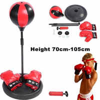 Novelty Interesting Punching Ball Toy 1 Set Stress Reduction   Exercise Sport Accessories