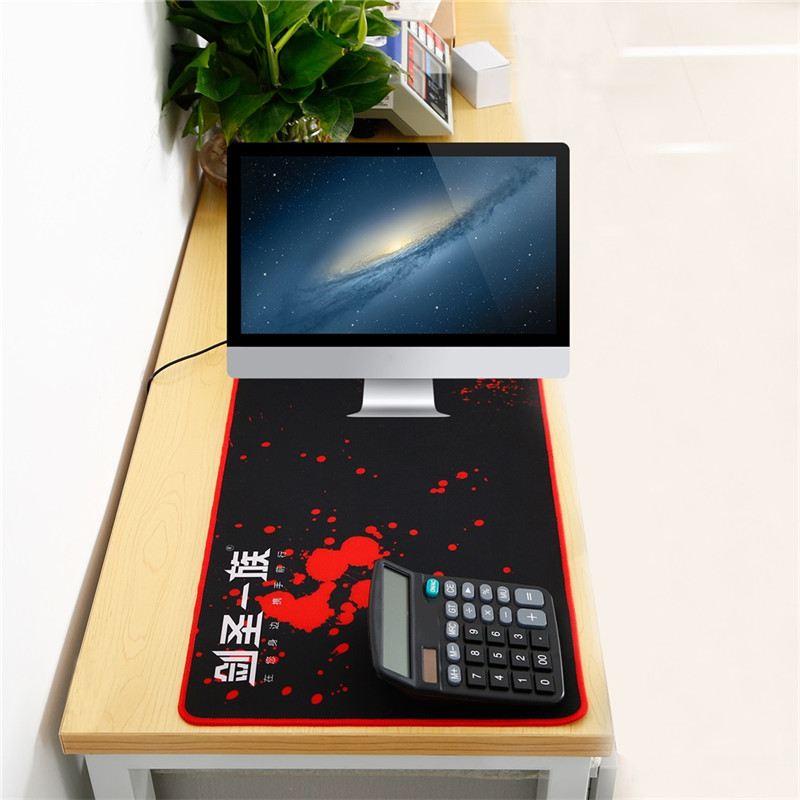 Large Size Mouse Pad Plain Extended Soft Game Mouse Pad 800*300MM Super Big Mousepad Mat Anti-Slip Desktop Pad for Laptop Pc