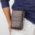 Verdadeiro e Genuíno Couro Homens Casuais Hip Bum Fanny Pack Cintura Sacos 5.5 Polegadas Tampa da Caixa Do Telefone Móvel Celular Da Pele Cinto saco Da Bolsa Gancho