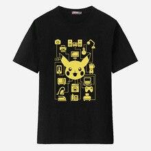 Xinyu New Summer Pokemon font b T b font font b Shirts b font Men