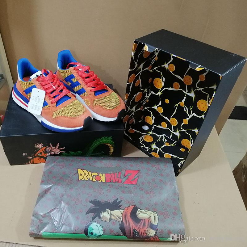 Shoe Dragon-Ball-Z Limited-Edition Zx 500 Run Classic Updated Top-Quality Goku Designer