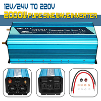 2000W Pure sine wave Inverter1 for Car Home Outdoor 12V 24V to 220V UPS Inverter with USB Charger Max 4000W