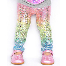 Girl pants new arrive sequin girls leggings Toddler Leggings 1-6Y baby girls leggings kids leggings